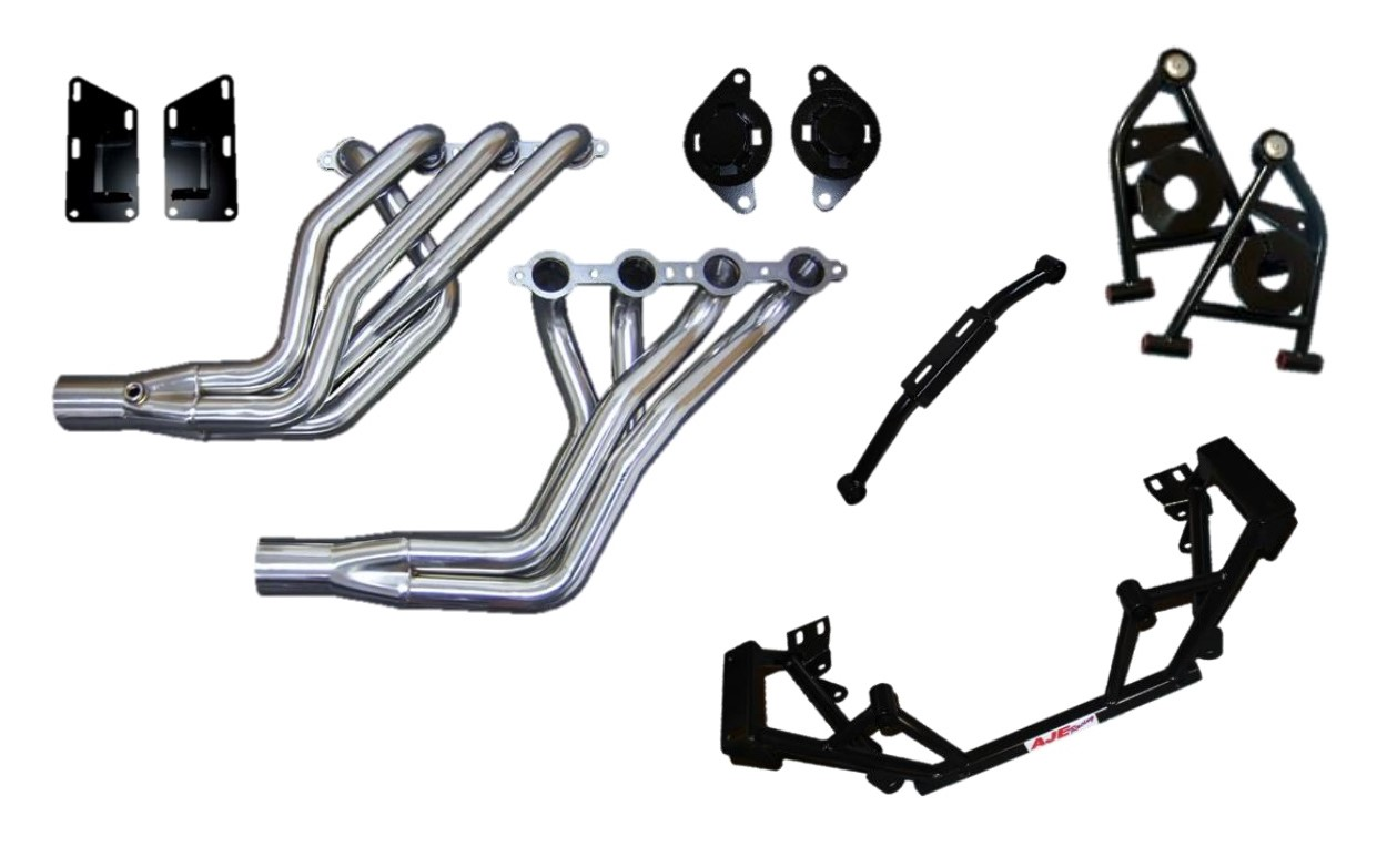 LS Swap Kits with Stainless Steel Headers
