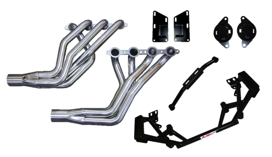 LS Swap Kit with Stainless Steel Headers